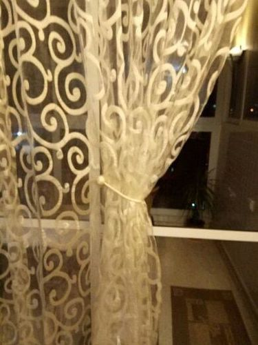 Deluxe™: Magnetic Curtain Buckles Tieback photo review