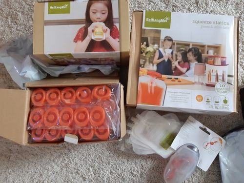 HOMEMADE™ BABY FOOD STATION photo review