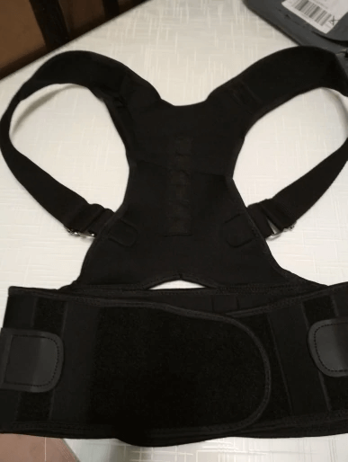 Magnetic Posture Corrective Therapy Back Brace photo review