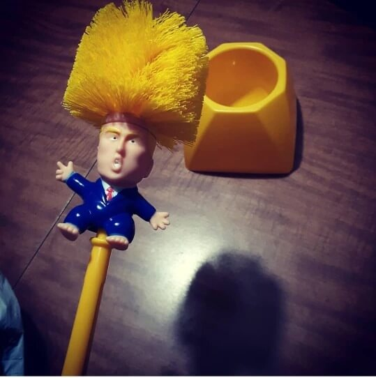 Trump Toilet Bush, Make Toilet Great Again! photo review